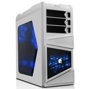 先马 刺客3重装版 白色 游戏机箱 (U3/超大侧透/SSD/黑化背线下置防尘/长显卡)刺客重装升级!