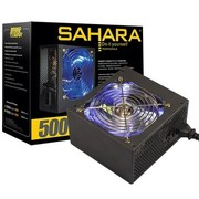 撒哈拉 眼镜蛇700V玩家版 额定500W电源 (支持背线/主动PFC转换效率80%以上/12CM透明蓝灯风扇)