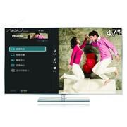 海信 LED47K600X3D 47英寸3D网络智能LED液晶电视(银色)