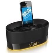 飞利浦 DS1600 iPhone6/5/4S/iPod 苹果充电音乐底座音响 家居迷你音箱 时钟收音机