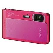 索尼 DSC-TX30 数码相机 粉色(1820万像素 3.3英寸屏 5倍光学变焦 4防功能)
