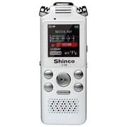 新科 V-59 8G 双核降噪  专业录音棚级别降临大众消费 全格式播放 彩屏录音笔