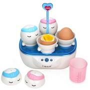 十度良品 SD-908家庭装温泉煮蛋器 创意蒸蛋器  一次煮4个蛋 白色