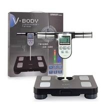 欧姆龙 体重身体脂肪称测量器HBF-358-BW 黑色产品图片主图