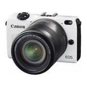 佳能 EOS M2 微单套机 白色(18-55mm,22mm)