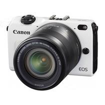 佳能 EOS M2 微单套机 白色(EF-M 18-55mm f/3.5-5.6 IS STM 镜头)产品图片主图