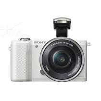 索尼 A5000 微单套机 白色(E PZ 16-50 f/3.5-5.6 OSS 镜头)产品图片主图