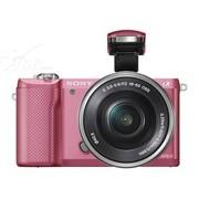 索尼 A5000 微单套机 粉色(E PZ 16-50 f/3.5-5.6 OSS 镜头)