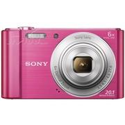 索尼 W810 数码相机 粉色(2010万像素 2.7英寸液晶屏 6倍光学变焦)