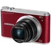 三星 WB350F 数码相机 红色(1630万像素 3英寸液晶屏 21倍光学变焦)