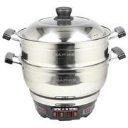 韩派 HP-A01     4L多功能电炒锅 多星锅 电蒸煮一体化锅