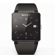 索尼 SmartWatch 2 SW2 智能手表 黑色 (硅胶表带)