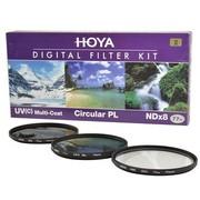 保谷 77mm KIT UV滤镜 CPL偏振镜 NDX8减光镜 滤镜套装