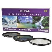 保谷 40.5mm  KIT UV滤镜 CPL偏振镜 NDX8减光镜 滤镜套装