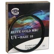 C&C ELITE  GOLD MR  UV-HAZE 10 77MM 金色铜环超级雾霾UV镜