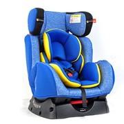 好孩子 goodbaby/儿童汽车安全座椅CS858带侧气囊保护(0~7岁使用)双向安装 CS858 L008 蓝色