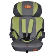 康美乐 儿童安全汽车座椅9个月-12周岁 9-36kg 头部高低调节 绿色