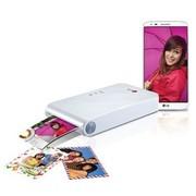 LG PD239W趣拍得 智能手机照片打印机口袋相印机(白色)
