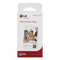 LG PS2203 Pocket Photo 2.0  口袋相印机 趣拍得 专用相纸 30张/盒产品图片主图