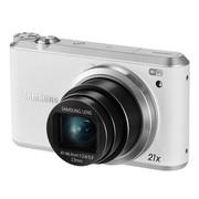 三星 WB350F 数码相机 白色(1630万像素 3英寸触摸屏 21倍光学变焦 23mm广角 内置8G卡)