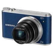 三星 WB350F 数码相机 蓝色(1630万像素 3英寸触摸屏 21倍光学变焦 23mm广角 内置8G卡)