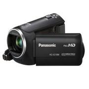 松下 HC-V210MGK-K 高清数码摄像机 黑色 (1000万像素 38倍光学变焦 闪存式 2.7英寸液晶屏)