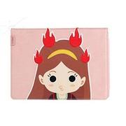 洛克 苹果iPad Air/ipad5洛克先生皮套第三季竖插 手机保护套/壳 粉色