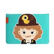 洛克 苹果iPadmini Retina/ipad mini2洛克先生第三季皮套 天蓝色