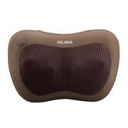 奥佳华 按摩器OG-2101小腰姬按摩枕按摩垫 套装有惊喜 经典棕