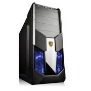 撒哈拉 走线大师GL8玩家版 游戏机箱 黑色 (U3\完美背线\标配1把12CM风扇)