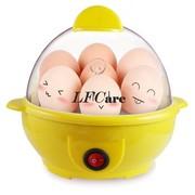 莱弗凯 ZDQ-301快速煮蛋器 蒸蛋器送蒸碗 黄色