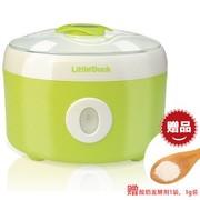 小鸭 酸奶机超大1.0L多功能纳豆发酵米酒机家用早餐机 奶锅绿色 早餐组合  酸奶机+煎蛋器