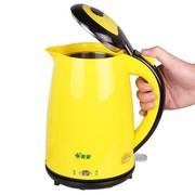 美菱 18YE 保温防烫不锈钢电水壶1.8L电热烧水壶 黄色