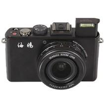 海鸥 CF100 数码相机 黑色(1010万像素 3.8倍光学变焦 3.0英寸高清屏 F1.4大光圈)产品图片主图