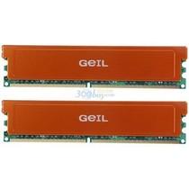 幻影金条 金邦(GEIL)白金条DDR2 800 4G(2G×2条)台式机内存产品图片主图