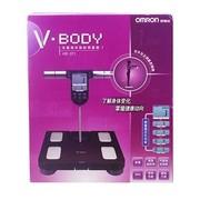 欧姆龙 脂肪测量仪HBF-371 电子体重秤脂肪秤脂肪称脂肪测量仪 红色