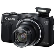 佳能 PowerShot SX700 HS 数码相机 黑色(1610万像素 30倍光变 3英寸高清屏 25mm广角 WiFi/NFC)