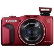 佳能 SX700 HS 数码相机 红色(1610万像素 30倍光学变焦 3英寸液晶屏)