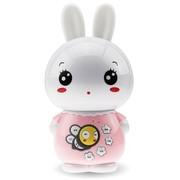 美美兔 V1 专业早教故事机婴幼儿童MP3学习机宝宝益智玩具 USB充电下载0-7岁 梦幻耳灯 胎教音乐 (可爱粉)