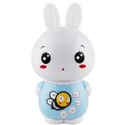 美美兔 V1 专业早教故事机婴幼儿童MP3学习机宝宝益智玩具 USB充电下载0-7岁 梦幻耳灯 胎教音乐 (天使蓝)