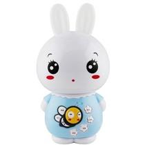 美美兔 V1 专业早教故事机婴幼儿童MP3学习机宝宝益智玩具 USB充电下载0-7岁 梦幻耳灯 胎教音乐 (天使蓝)产品图片主图