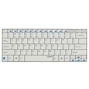 雷柏 E6100 蓝牙3.0超薄键盘 兼容多种操作系统 白色