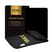 卓美 Z系列方形插片滤镜  全灰ND8 三档减光 100*145mm 风光摄影必备 67mm