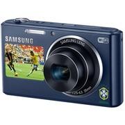三星 DV2014F 数码相机 钴黑色(1620万像素 5倍光变 25mm广角 智能双屏 WiFi上传 内置4G卡)
