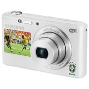 三星 DV2014F 数码相机 白色(1620万像素 5倍光学变焦 25mm广角 智能双屏 WiFi上传 内置4G卡)