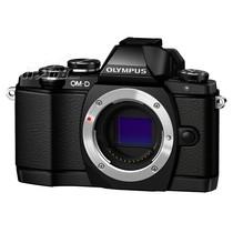 奥林巴斯 E-M10 微型单电机身 黑色(超高速AF 内置WIFI 翻转触摸屏 内置144万像素取景器)产品图片主图