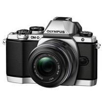 奥林巴斯 E-M10 微型单电套机 银色(M.ZUIKO DIGITAL 14-42mm F3.5-5.6 Ⅱ R镜头)产品图片主图