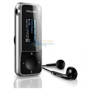 飞利浦 SA2MXX02K/93 2G MP3音频播放机 黑色