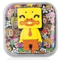 张小盒 HEDR0009_4A U盘 神兽系列 今天好开心鸭8G产品图片主图