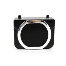 小霸王 扩音王E660 腰挂式扩音器大功率插U盘TF卡音箱 扩音器特价正品 黑色产品图片主图